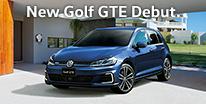 こころ躍らせるプラグインハイブリッド。New Golf GTE