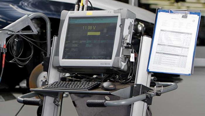 ドイツ本社から常に最新情報を取得、最新機器を取り入れフォルクスワーゲン車の故障に対応